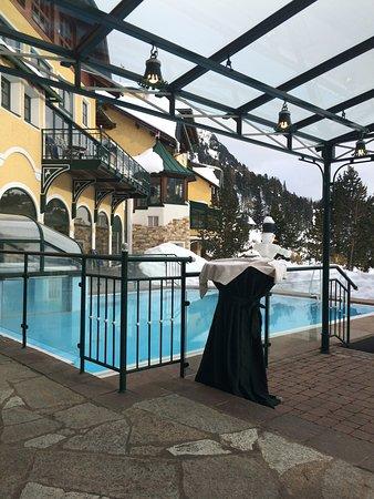 Turracher Hohe, Austria: Exellent open-air swimming pool