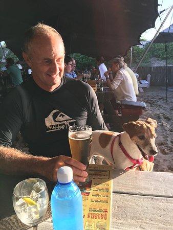 Sedgefield, Sudáfrica: Outside area ideal on warm evenings