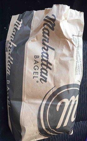 Lawrenceville, NJ: Take out bag