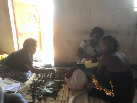 Kasubi Tombs: a meal in historic houses