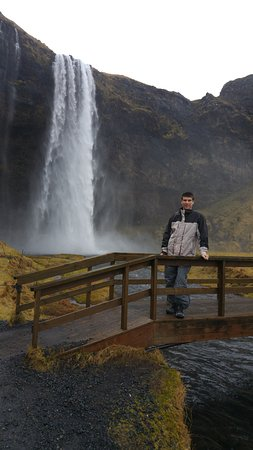 Hvolsvollur, Islandia: waterfall