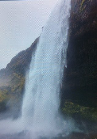 Hvolsvollur, Islandia: be prepared to get wet!
