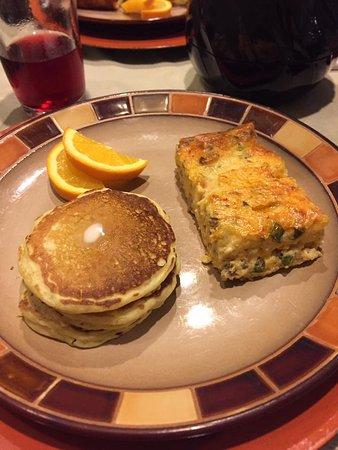 Hilltop Manor Bed & Breakfast: Breakfast 2 Course 2