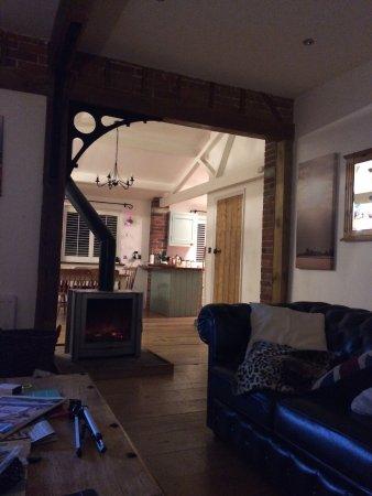 St Osyth, UK: Cart lodge