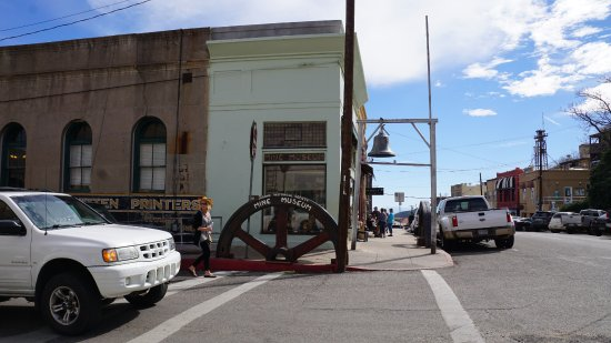 Jerome, AZ: Museum from Corner