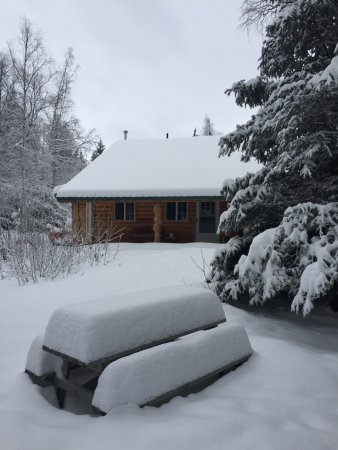 Hope, AK: Peaceful winter cottage