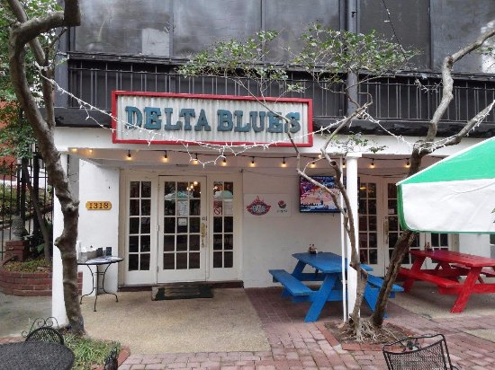 Delta Blues Hot Tamales: Delta Blues from the front