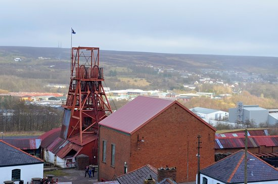 Blaenavon, UK: View on the Museum