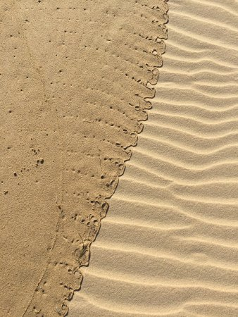Sedgefield, Zuid-Afrika: Patterns in the sand at low tide
