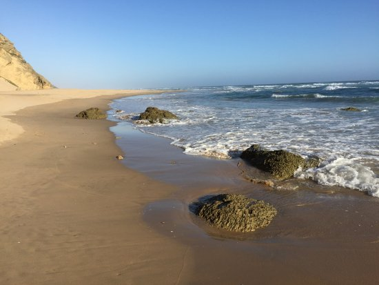 Sedgefield, Zuid-Afrika: The view northwards towards the Goukamma nature reserve
