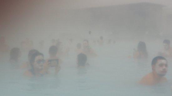 Grindavík, Islandia: full of bathers