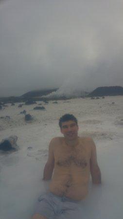 Grindavik, Island: relaxing