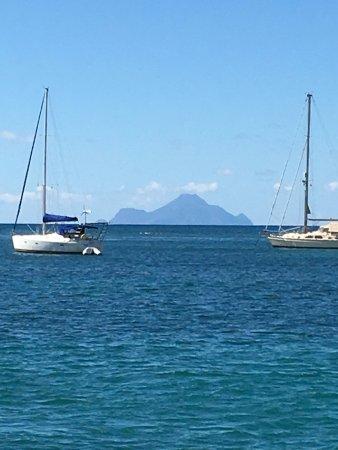 bahía de Simpson, St. Maarten: Saba