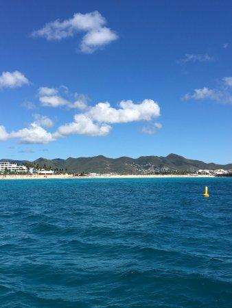 bahía de Simpson, St. Maarten: Maho Bay