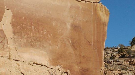 Thompson, UT: Ute Indian Petroglyphs - 1300 A.D. - 1880 A.D.
