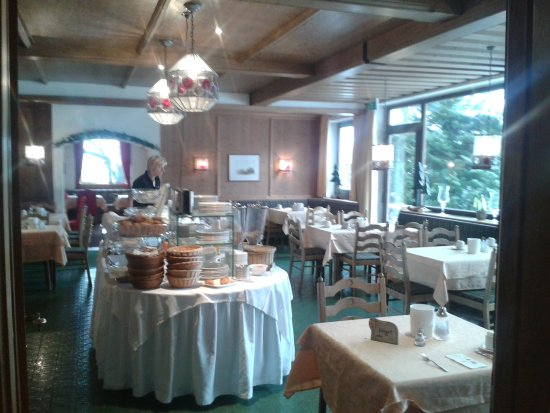 Hotel Landgasthof Gappen: gutes Frühstücksbüffet