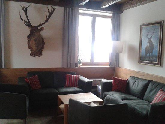 Hotel Landgasthof Gappen: gemütlicher Aufenthaltsraum