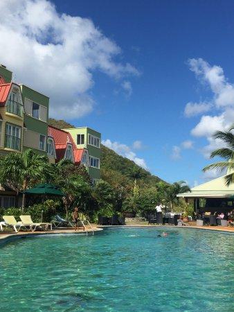 A reasonable resort hotel near the beach