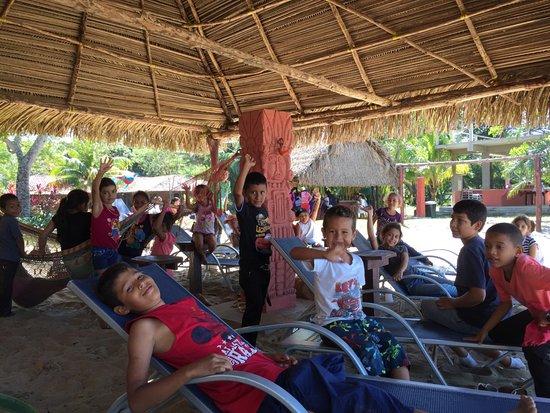 "Trujillo, Honduras: Tranquility Bay's ""Operation Backpack/School Uniform"" hosts ""Award Day"" for 53 community childre"
