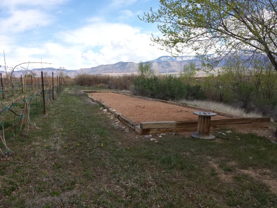 Palisade, CO: Bocce court