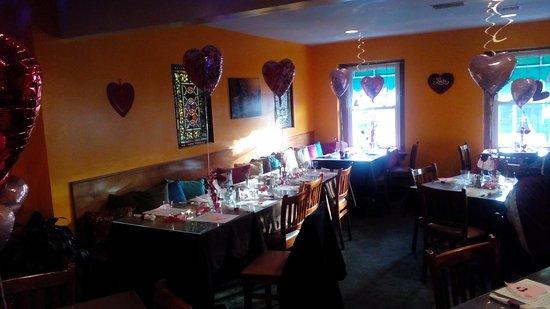 นิวคัมเบอร์แลนด์, เพนซิลเวเนีย: Private 60th birthday Valentines party