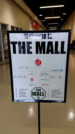 Lebanon, MO: The Mall map as of October 2016