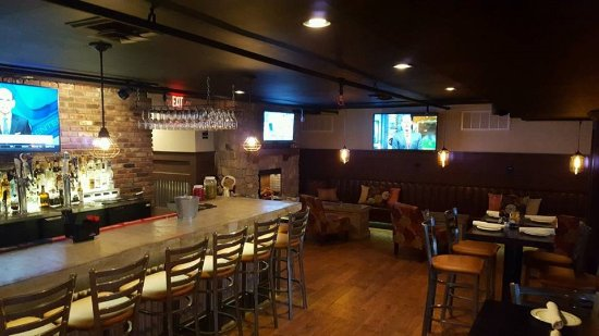 Hillsborough, Nueva Jersey: The Bar in the newly remodled Pub