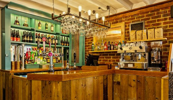 The Jolly Coopers Public House: coffee , gins , wines , beers by the bar load