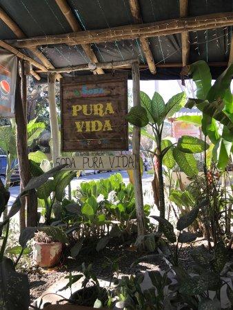 Nicoya, Costa Rica: Soda Pura Vida