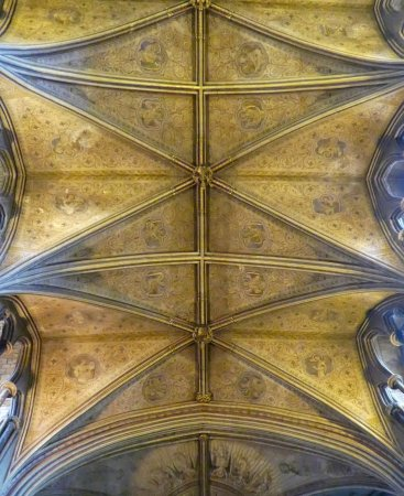 Worcester, UK: Glorious Ceiling