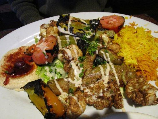Ali BABA Restaurant : Roasted Vegetable Platter