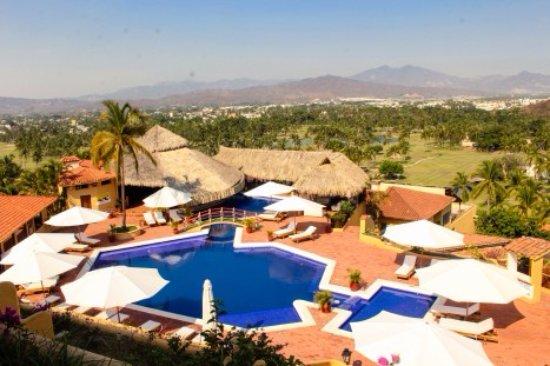 Hotel Plaza Tucanes Manzanillo: Vista panorámica