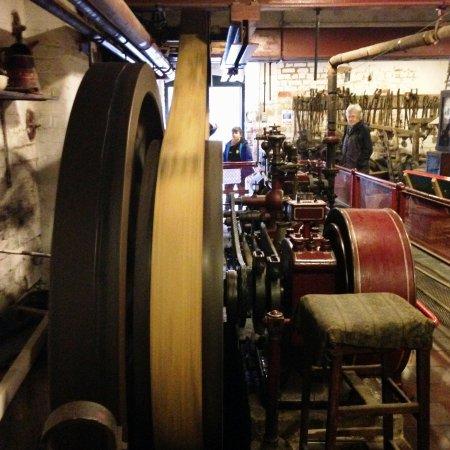 Longton, UK: Engine room