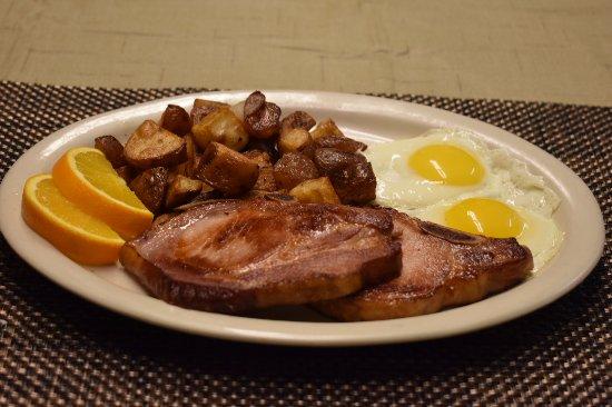 Hiouchi, Californie : Smoked Pork Chops