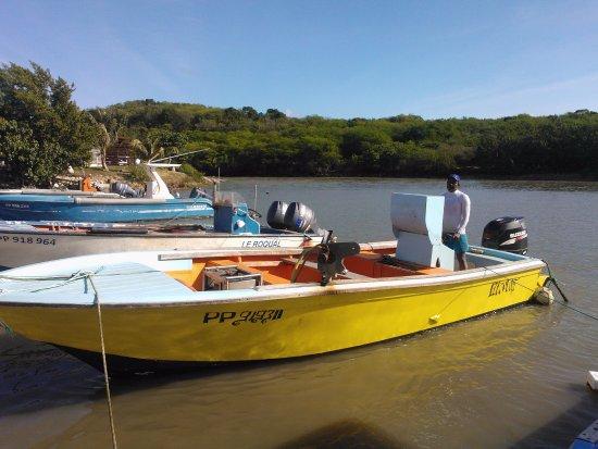 Anse-Bertrand, Guadeloupe: le chef est aussi pêcheur , alors imaginez ce que vous avez dans vos assiettes