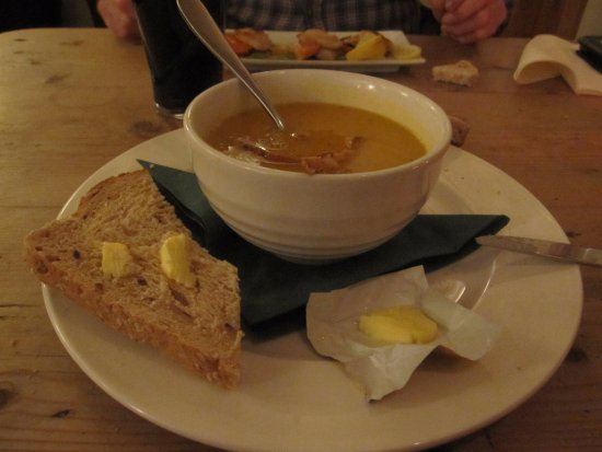 Hartpury, UK: Soup