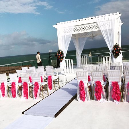 Azul Beach Resort Riviera Maya Sky Deck Wedding