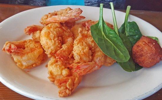 Darien, Géorgie : Big Far Wild GA Shrimp Fried Up A Bit