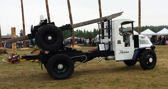 Sequim, WA: 1919 Mac Logging Truck
