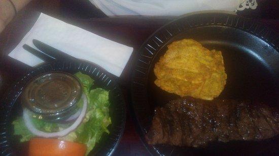 Tierra del Fuego: Steak salad