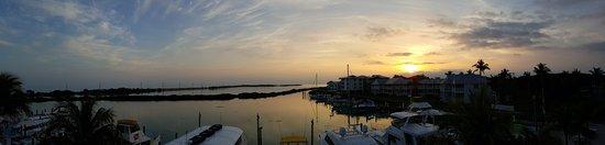 Hawks Cay Resort: View from Villa