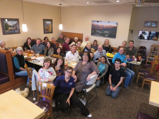 Mountain Home Cafe Inc. : This is the church family and most of us meet here every Sunday after church!! YEA!!