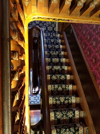 Claysville, PA: A look down the spiral staircase