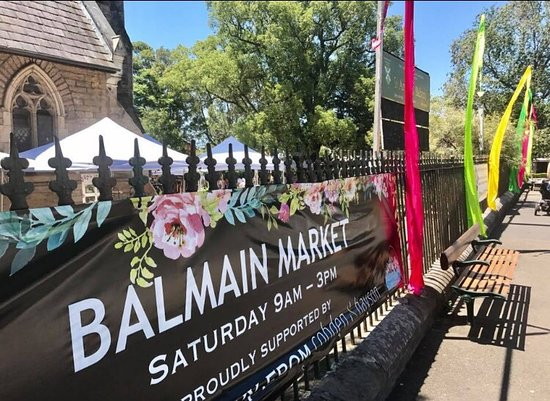 Balmain, Australia: Such a lovely local market turning 40 this year.