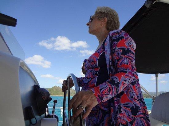 St. John's, Antigua: DW Piloting Cool Cat