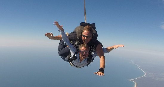 Coffs Harbour, Avustralya: Me facing my fear... this experience is an investment