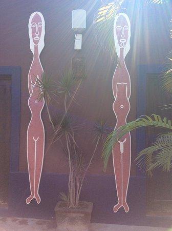 Hotel California: Bathroom Doors