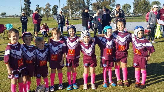 Dalby, Australien: Football is our passion