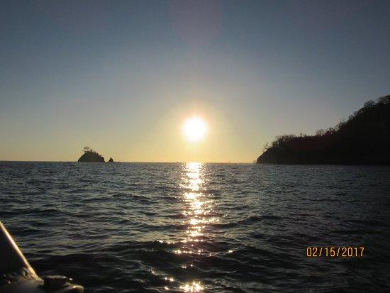 Playa Potrero, Costa Rica: sunset cruise