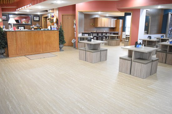 Southern Oaks Inn: Check Inn Counter